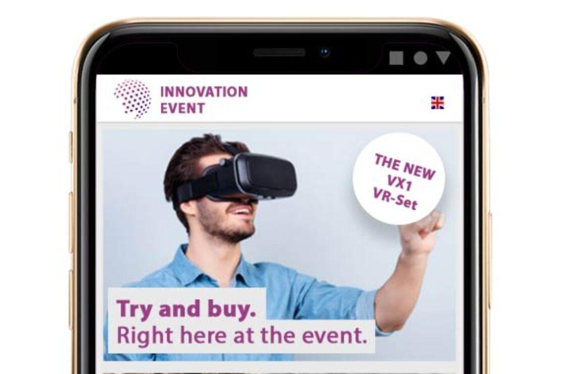 WLAN-Marketing auf einem Smartphone