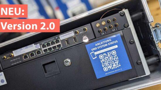 Nahaufnahme des Multi-LTE Cases 2.0